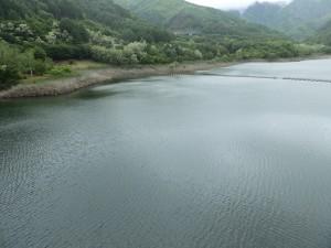内村ダム湖