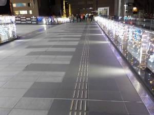 高崎駅ライトアップ